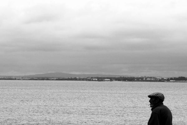 Kippe am Tejo-Ufer