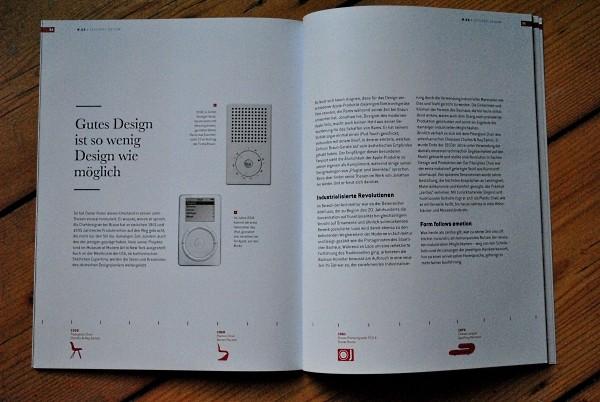 so wenig design wie möglich