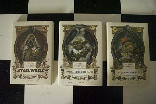 Star Wars Trilogie Rezension »Shakespeares Star Wars«: Des Barden Weltraumtrilogie