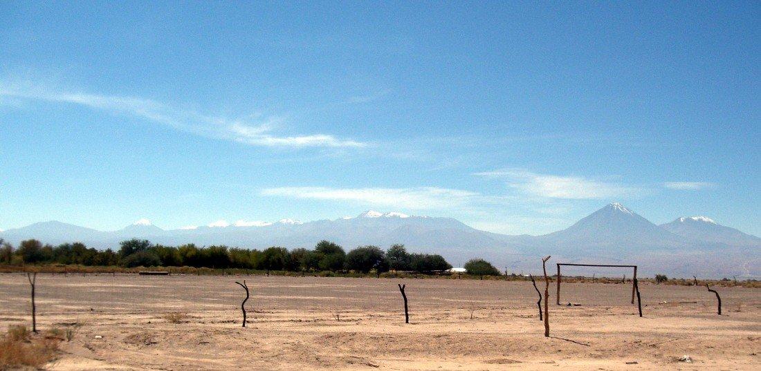 Fußballplatz: San Pedro de Atacama