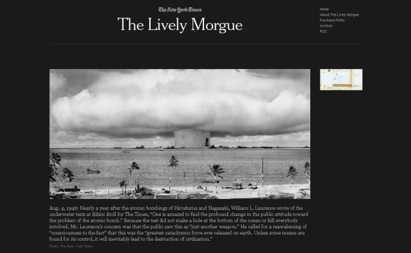 Screenshot: The Lively Morgue