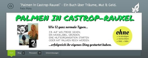 Screenshot: Palmen in Castrop-Rauxel