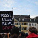 Macht mal Lärm: Demo in Bonn