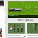 Screenshot: 8bit Football