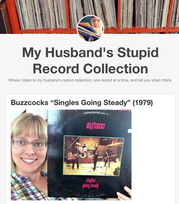 Screenshot: Husband's Records