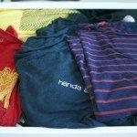 T-Shirt-Schublade