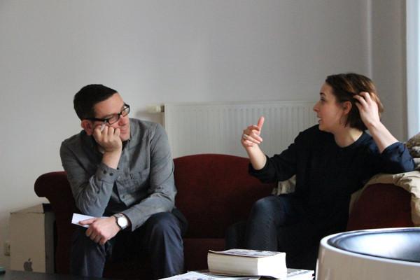 Lara Beckmann im Gespräch