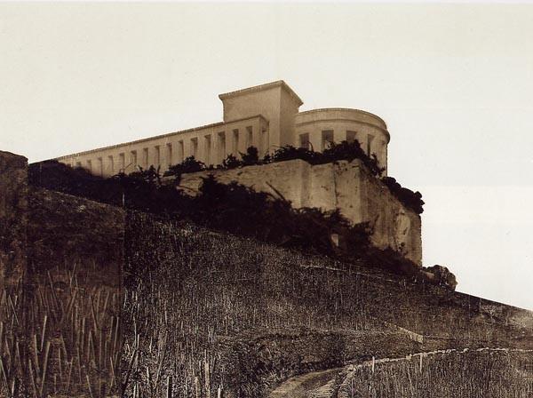 Mies van der Rohe: Bismarck Monument Projekt, Bingen 1910, Bildrechte: 2016 Artists Rights Society (ARS) New York/VG Bild-Kunst Bonn