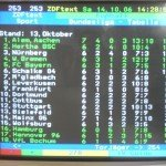 ZDFtext: Tabellenführer Alemannia (14.10.2006)